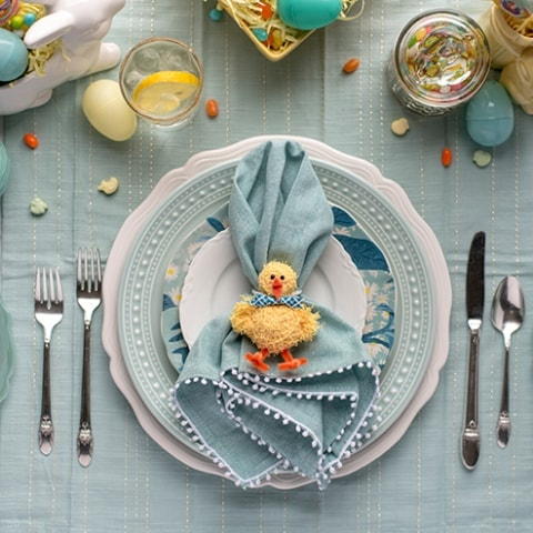 Chick Napkins Rings 8754 Web 1 480x480 - DIY Easter Napkin Rings