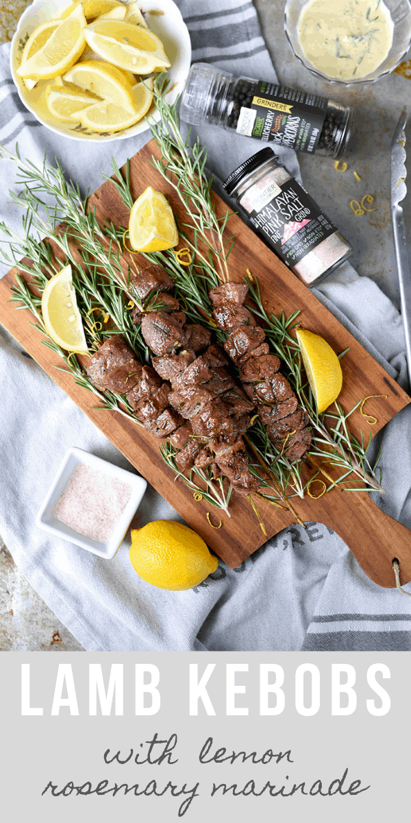 Daily Drip Coffee Co. 1 - Grilled Rosemary Lamb Skewers with Himalayan Pink Salt