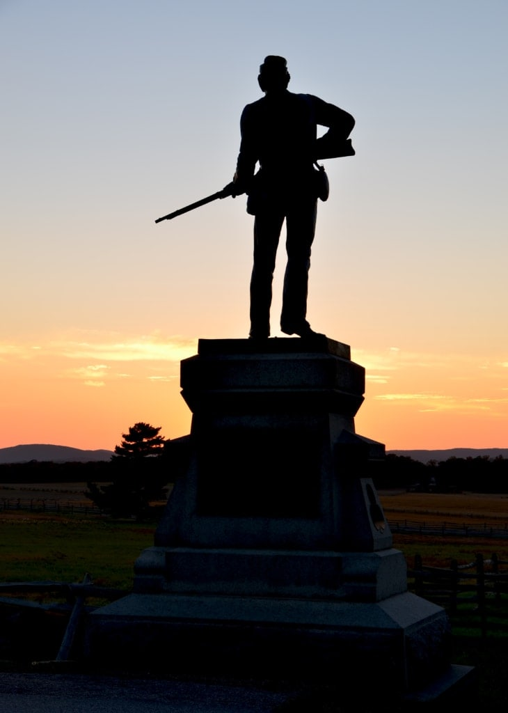 Sunset with Statue 730x1024 - Charity Beth Long Photography Portfolio