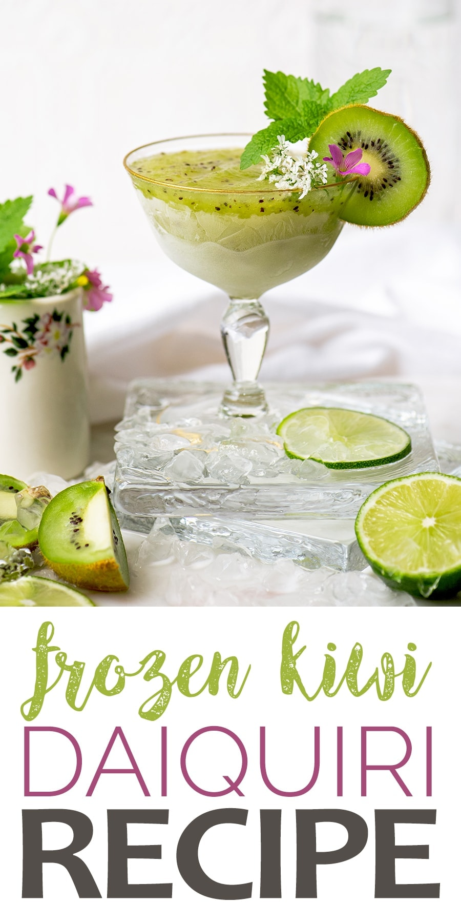 Kiwi Daiquiri Pin - Frozen Kiwi Daiquiris