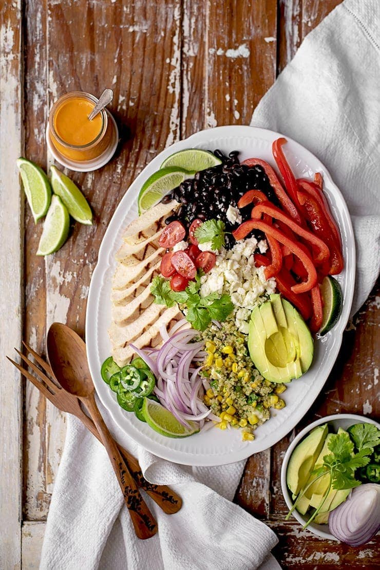 Mexican Quinoa Salad 3535 3 Web - Mexican Quinoa Salad with Sweet & Tangy Tomato Dressing