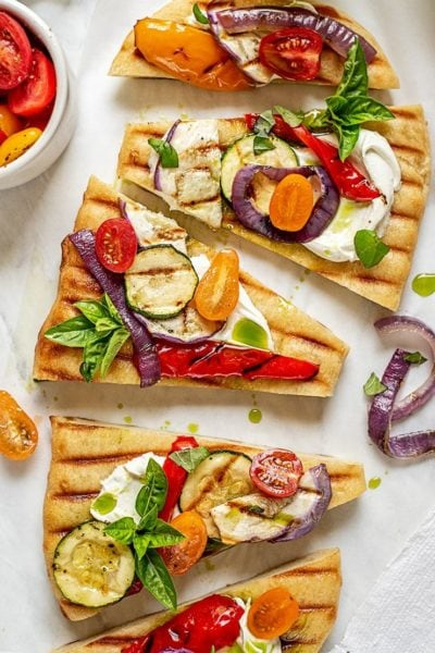 ratatouille flatbread