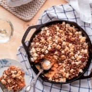 Lightened-Up Sweet Potato Casserole