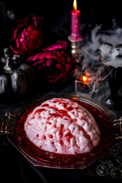 Brain Panna Cotta from Vintage Kitty