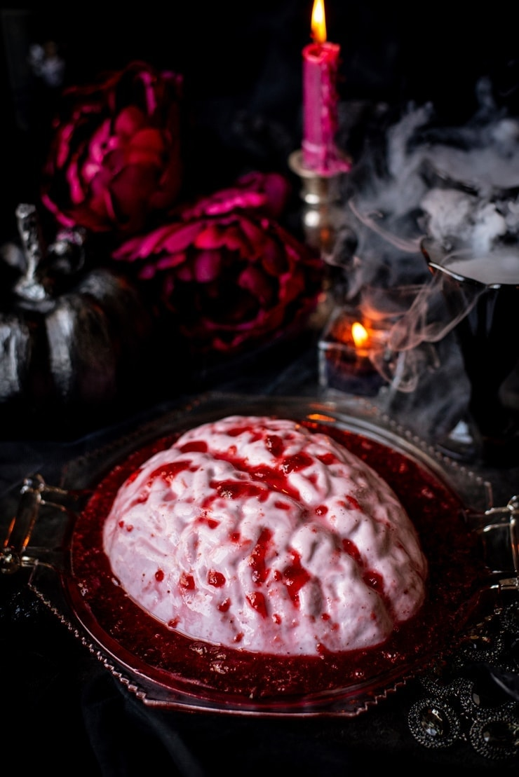 Brain Panna Cotta 1754 2 Web - Brain Panna Cotta Halloween Dessert