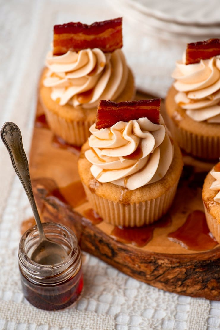Macon Bacon Cupcakes 1005 2 Web - Maple Bacon Cupcakes