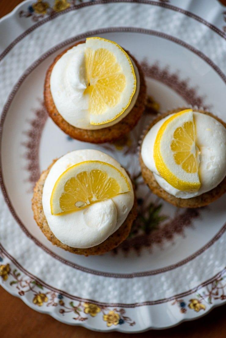 Earl Grey Cupcakes 5502 Web - Earl Grey Cupcakes with Lemon Buttercream