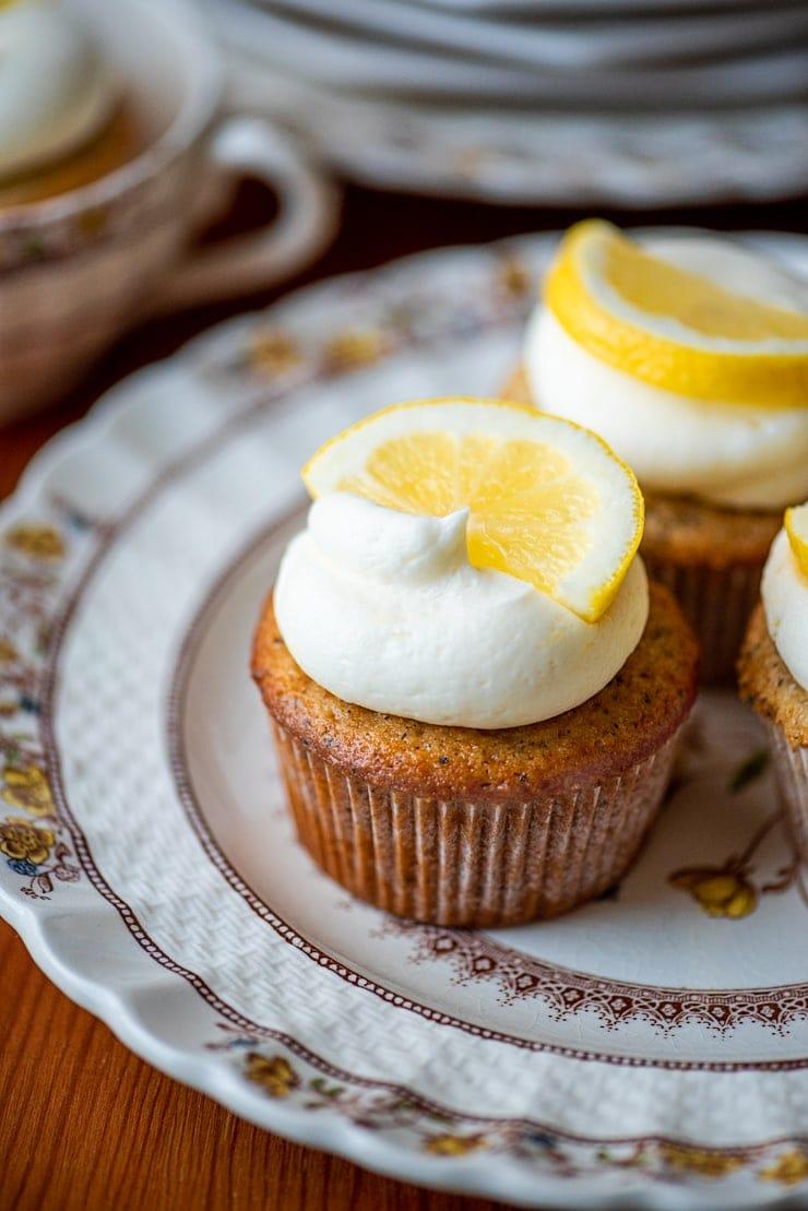 Earl Grey Cupcakes 5543 Web - Earl Grey Cupcakes with Lemon Buttercream