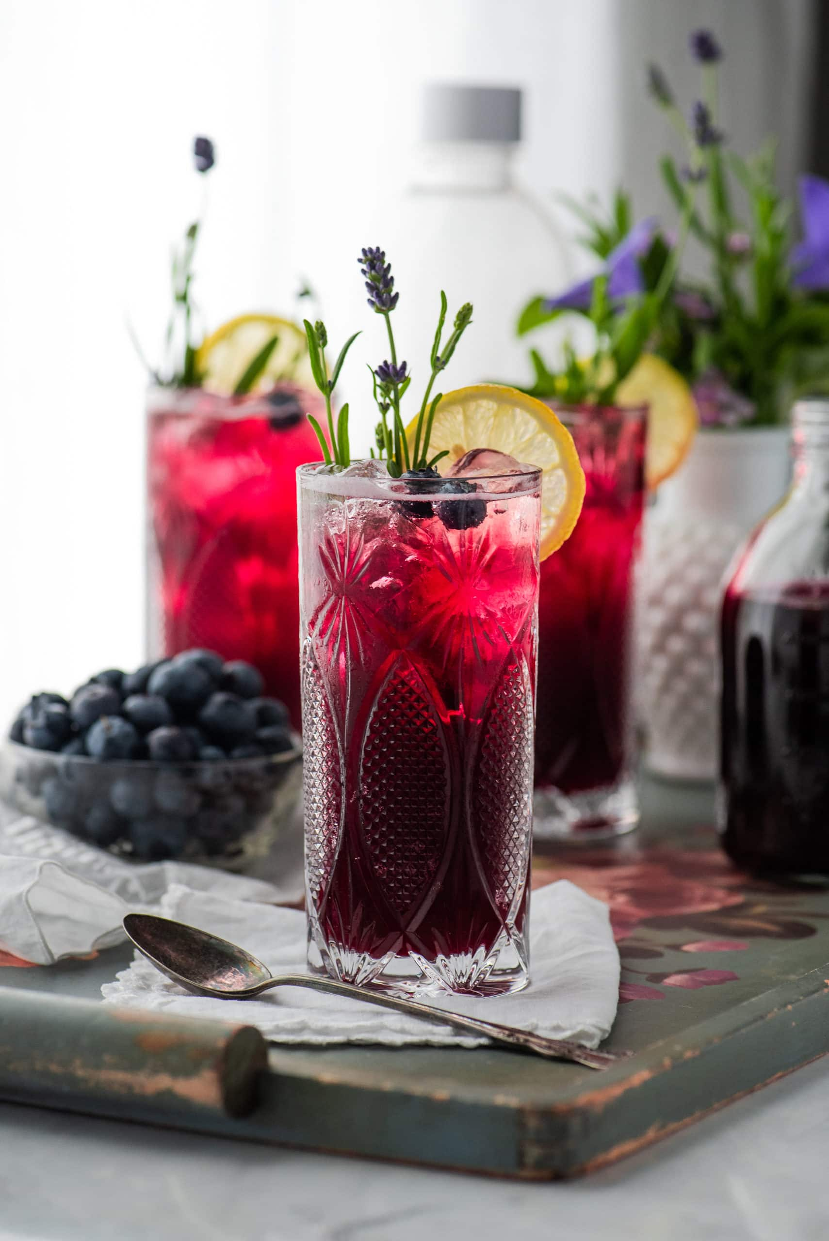 Blueberry Lavender Soda 6905 scaled - The Best Homemade Berry Iced Tea