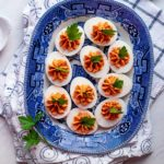 Harissa Deviled Eggs 6487 150x150 - Zesty Harissa Hummus Recipe + Platter Ideas