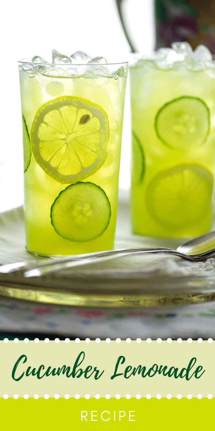 Cucumber Lemonade Pin 2 - Refreshing Summertime Cucumber Lemonade