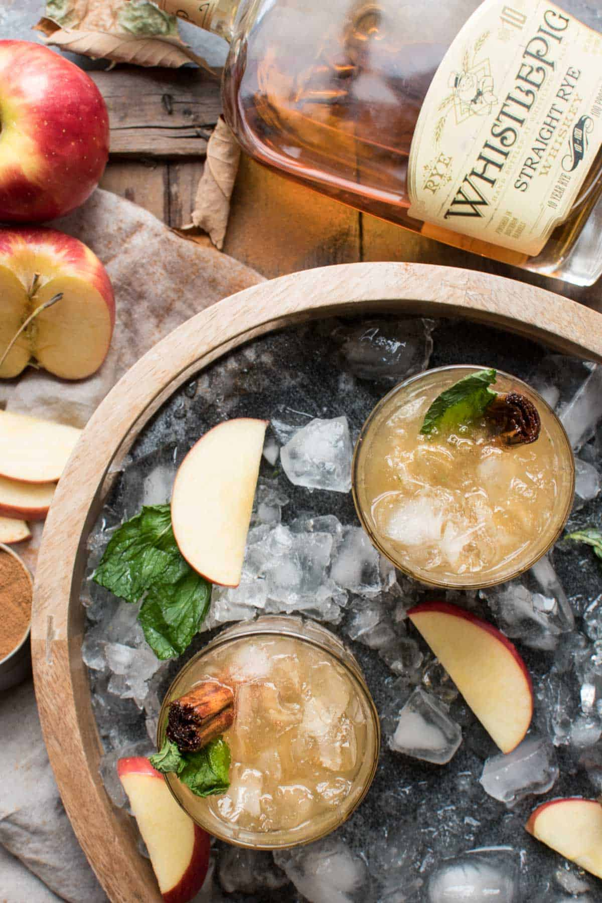 Cinnamon Apple Whiskey Smash 5 - Apple Cider Brine for Turkey and Pork