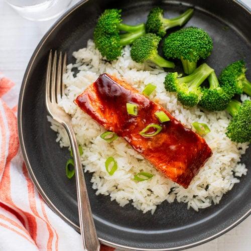 Asian Glazed Salmon 8563 800px 500x500 - Incredibly Easy Asian Baked Salmon