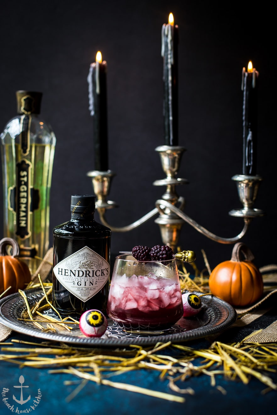 Black Widow Cocktail 1 of 1 2 - Ghoulishly Good! Halloween Party Recipes and Ideas