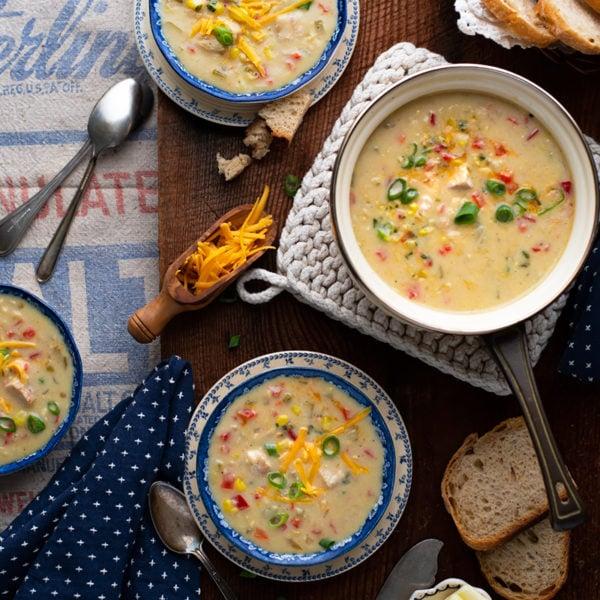 Creamy Chicken Corn Soup 8674 800px 600x600 - Home Option #2