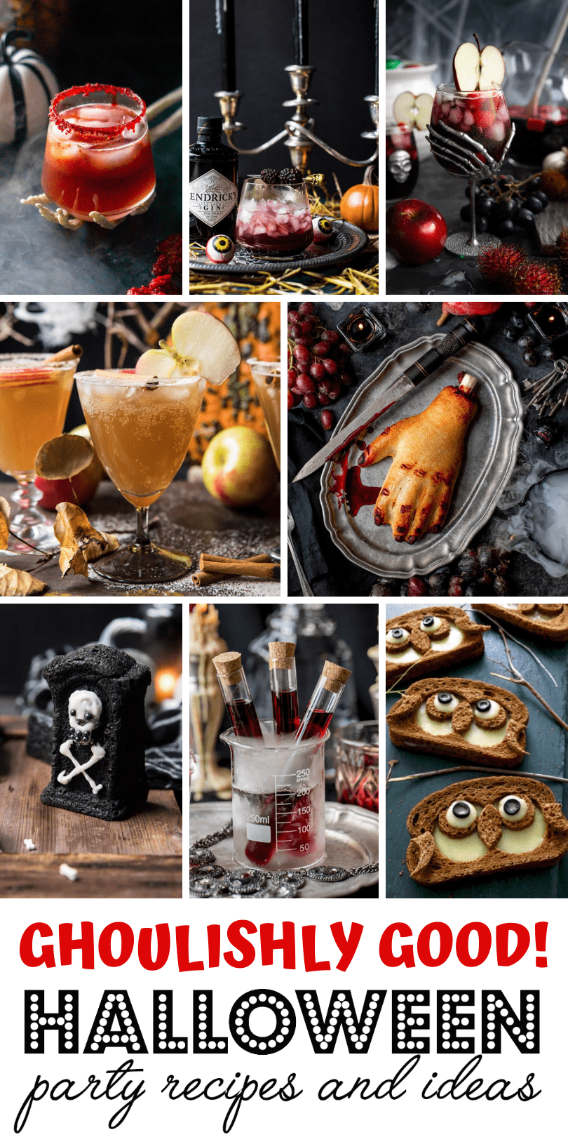 Halloween Recipes - Ghoulishly Good! Halloween Party Recipes and Ideas