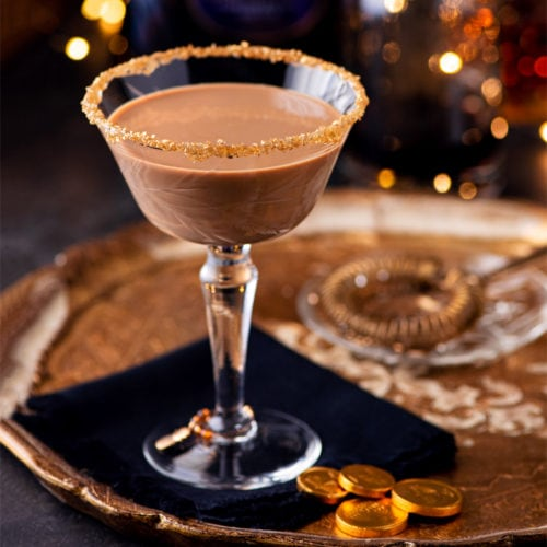 Chocolate Martini 1230 cropped 800px 500x500 - Festive Holiday Chocolate Martini with Coffee Liqueur