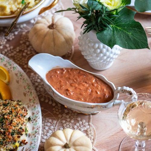 Thaksgiving Dinner 0765 800px 500x500 - Caramelized Onion Gravy