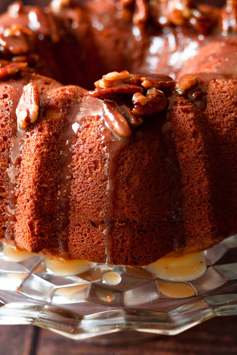 sweet potato sour cream pound cake updated 15 - Mouthwatering Thanksgiving Menu Ideas