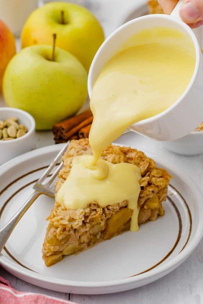 vegan custard 11 650x975 1 - Mouthwatering Thanksgiving Menu Ideas
